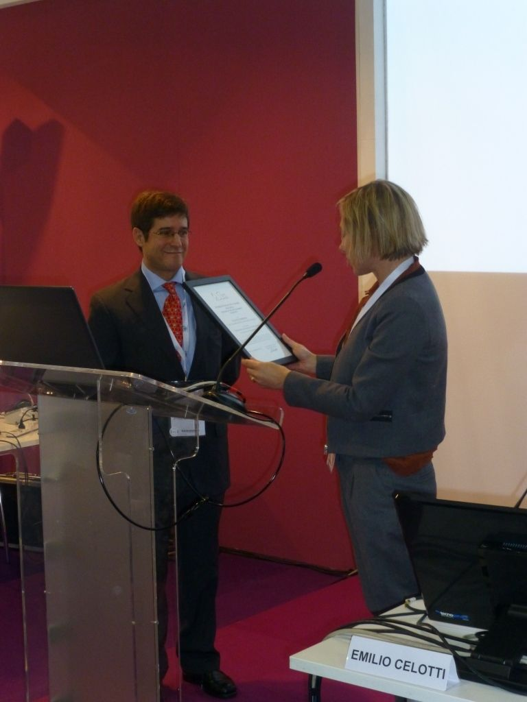 Premiazione Sive Oenoppia - Dr. Vicente Ferreira